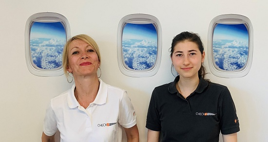 Sonja und Johanna ICAO Language Proficiency Training Expertinnen